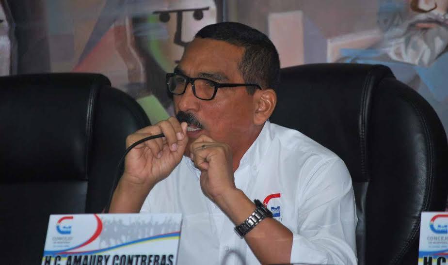 Amaury Contreras, Presidente del Concejo de Montería.