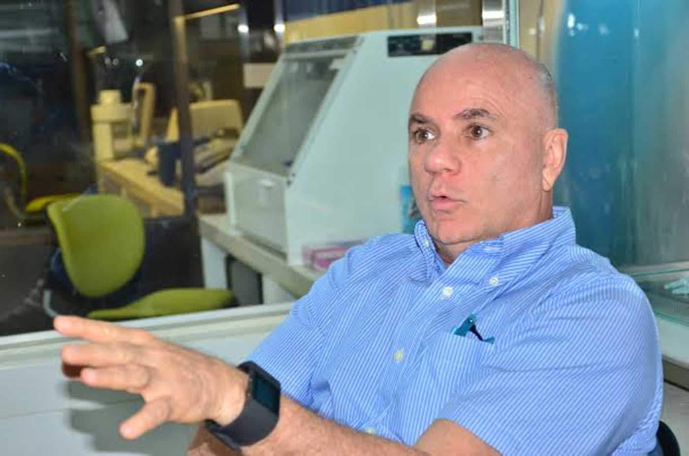 Salim Mattar Velilla, director del IIBT y doctor en Microbiología.